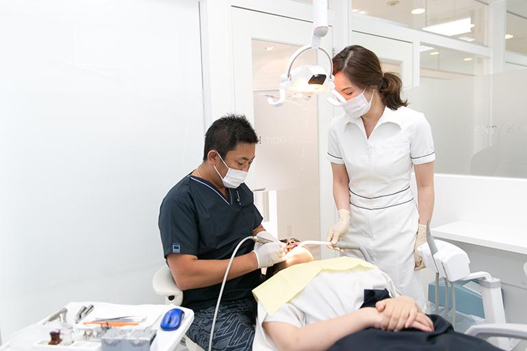 痛みを取るのが歯科医の仕事。痛くない治療をめざします
